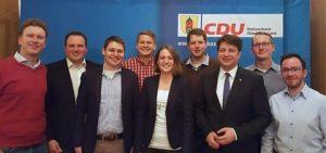 Unsere Kandidaten bei der Nominierungsveranstaltung mit dem Kreisvorsitzenden Christian Calderone